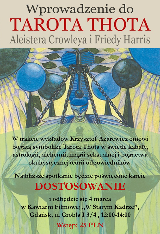 tarot thota Aleistera Crowleya