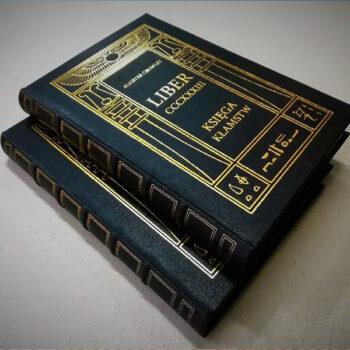 Aleister Crowley książka Księga kłamstw de luxe